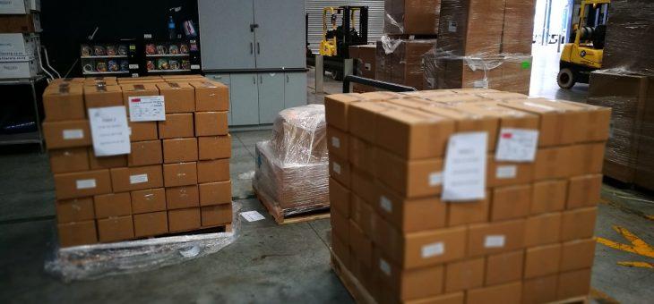 First Shipment To Vietnam