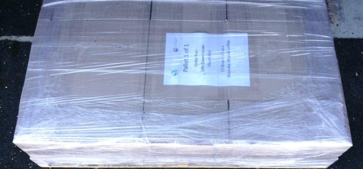 Shipment To LDU (Australia)